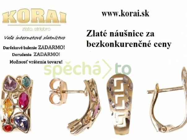 Zlaté náušnice KORAI a8f91993390