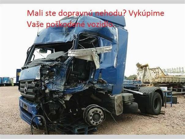 Neustále vykupujeme havarované nákladné vozidlá, foto 1 Náhradní díly a příslušenství, Užitkové a nákladní vozy | spěcháto.cz - bazar, inzerce zdarma