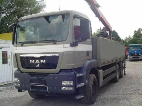 MAN  TGS 26.400 6x4, hydr.ruka, foto 1 Užitkové a nákladní vozy, Nad 7,5 t | spěcháto.cz - bazar, inzerce zdarma