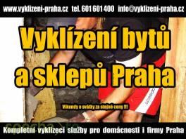 Levné vyklízení bytů a sklepů Praha
