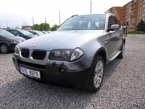 BMW X3 3.0,PANORAMA,XENON,KŮŽE,MANUÁL, foto 1 Auto – moto , Automobily | spěcháto.cz - bazar, inzerce zdarma