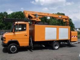 711 D  montážní plošina 12m. , Užitkové a nákladní vozy, Nad 7,5 t  | spěcháto.cz - bazar, inzerce zdarma