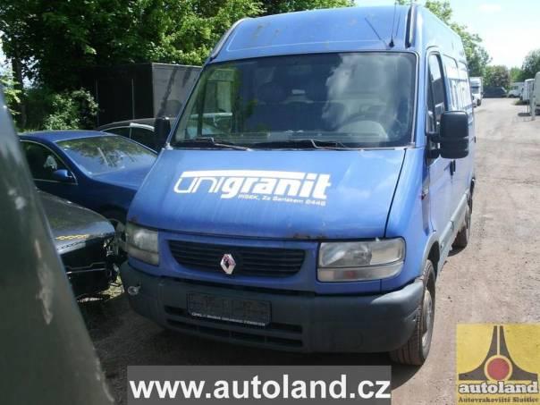 Renault Master 2,2, foto 1 Náhradní díly a příslušenství, Ostatní | spěcháto.cz - bazar, inzerce zdarma