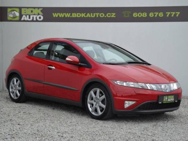 Honda Civic 1.8i,103kW,ČR,Automat,Serv.hist., foto 1 Auto – moto , Automobily | spěcháto.cz - bazar, inzerce zdarma