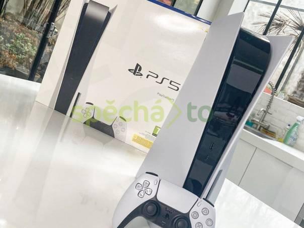 Sony PlayStation 5 Standard Edition console Disc Version, foto 1 Hry a herní příslušenství, Herní konzole   spěcháto.cz - bazar, inzerce zdarma