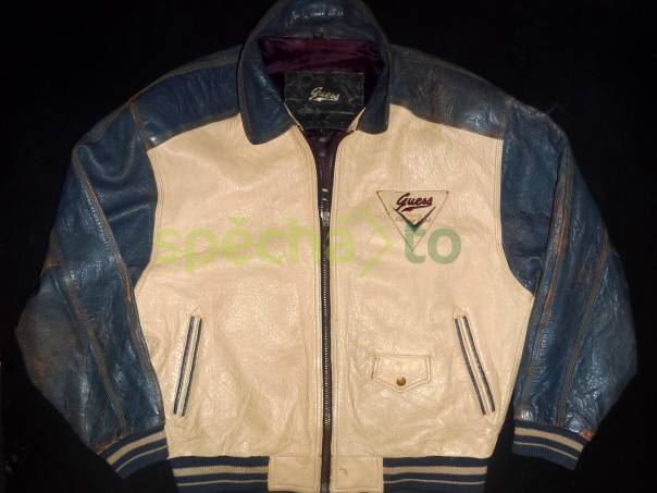 Retro kožená bunda Guess L  70d3902ccdc