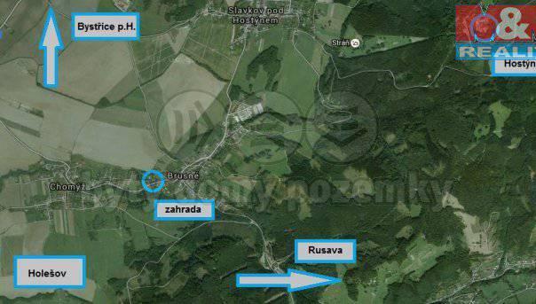 Prodej pozemku, Brusné, foto 1 Reality, Pozemky | spěcháto.cz - bazar, inzerce