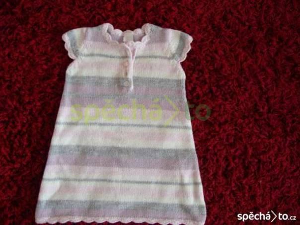 Pletené šaty zn.NEXT, foto 1 Pro děti, Dětské oblečení  | spěcháto.cz - bazar, inzerce zdarma