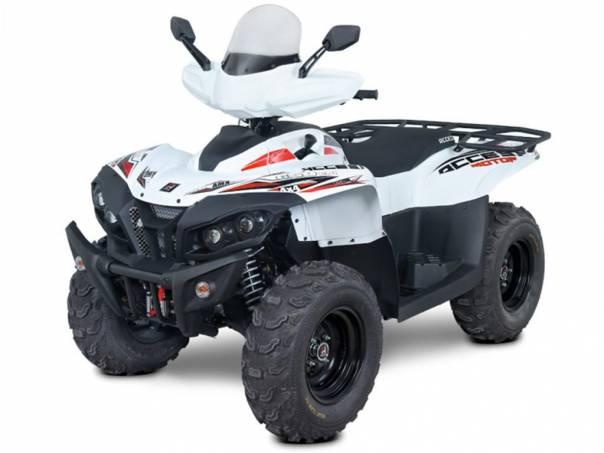 Access Motor  Max 650i LT FOREST 4x4 White, foto 1 Auto – moto , Motocykly a čtyřkolky | spěcháto.cz - bazar, inzerce zdarma