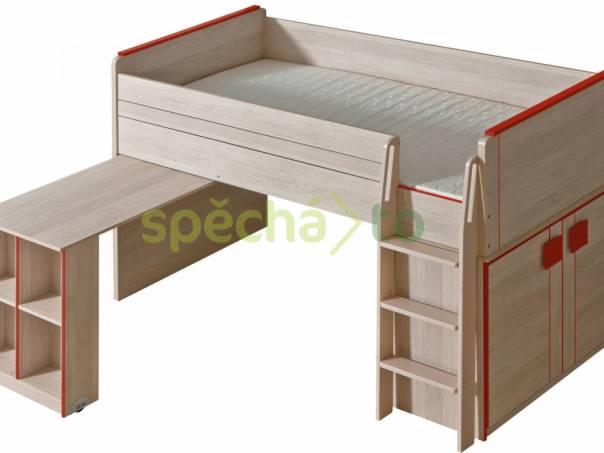 Patrová MULTIFUNKČNÍ postel, foto 1 Bydlení a vybavení, Postele a matrace | spěcháto.cz - bazar, inzerce zdarma