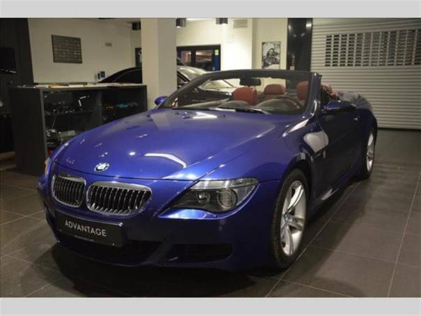 BMW M6 5.0 Cabrio  SKLADEM, foto 1 Auto – moto , Automobily | spěcháto.cz - bazar, inzerce zdarma