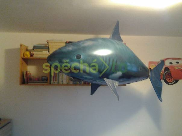 air swimmer, létající ryba na dálkové ovládání naplněná heliem a seřízená +helium na doplnění na cca 1 rok, foto 1 Pro děti, Hračky | spěcháto.cz - bazar, inzerce zdarma