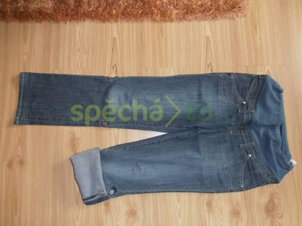 Těhotenské džíny, foto 1 Dámské oděvy, Kalhoty, šortky | spěcháto.cz - bazar, inzerce zdarma