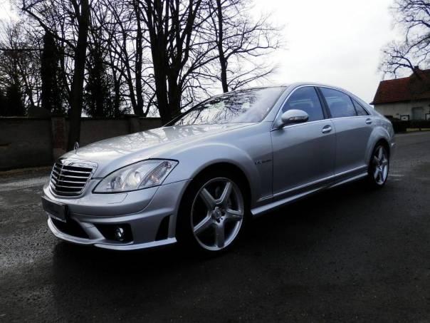 Mercedes-Benz Třída S S 65 AMG, V12 Long. Max výbava, foto 1 Auto – moto , Automobily | spěcháto.cz - bazar, inzerce zdarma