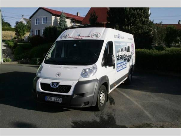 Peugeot Boxer L4H2 2.2 HDI 150k - TAŽNÉ, foto 1 Užitkové a nákladní vozy, Do 7,5 t | spěcháto.cz - bazar, inzerce zdarma