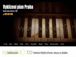 Vyklízení pian Praha , Obchod a služby, Úklid a údržba    spěcháto.cz - bazar, inzerce zdarma