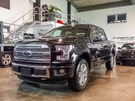 Ford F-150 Platinum SuperCrew Panorama 2015