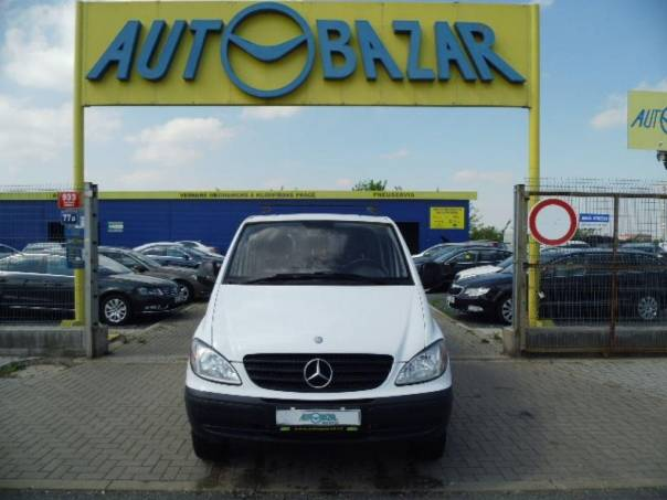 Mercedes-Benz Vito 115 CDi 4x4 XL 5 míst, foto 1 Užitkové a nákladní vozy, Do 7,5 t | spěcháto.cz - bazar, inzerce zdarma