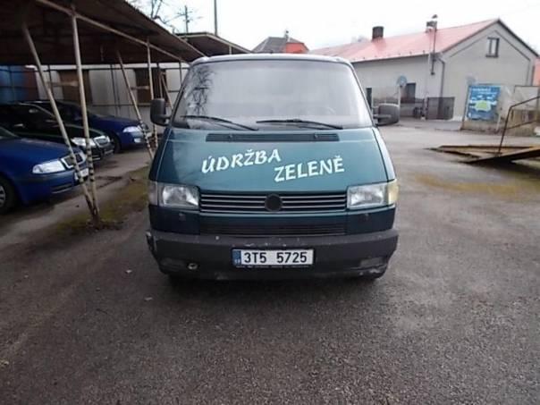 Volkswagen Transporter 2,4 D, foto 1 Užitkové a nákladní vozy, Do 7,5 t | spěcháto.cz - bazar, inzerce zdarma