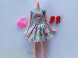 NOVÉ! Set pro panenku Barbie, šaty+boty+ kabelka , Pro děti, Hračky  | spěcháto.cz - bazar, inzerce zdarma