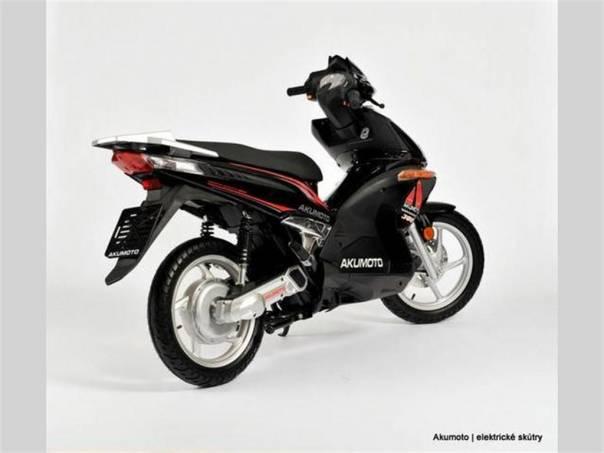 Elektroskútr Akumoto, foto 1 Auto – moto , Motocykly a čtyřkolky | spěcháto.cz - bazar, inzerce zdarma