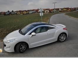 Peugeot RCZ 200 HP TOP stav TOP cena, JAKO NOVY