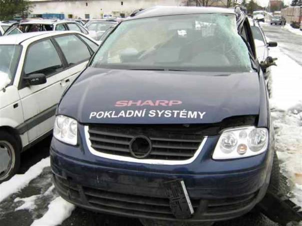 Volkswagen Touran 1.6 - veškeré ND, foto 1 Náhradní díly a příslušenství, Osobní vozy | spěcháto.cz - bazar, inzerce zdarma