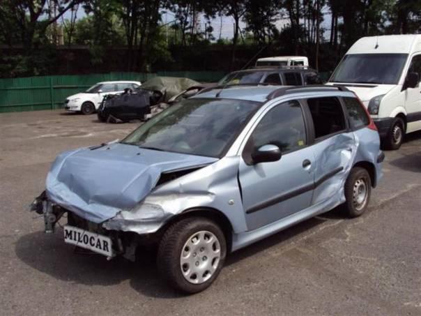 Peugeot 206 1.4 HDi SW kombi 65 000 km , foto 1 Auto – moto , Automobily | spěcháto.cz - bazar, inzerce zdarma