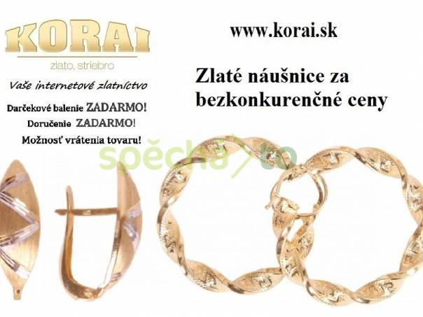 Náušnice zlaté KORAI 0efd3153d9c