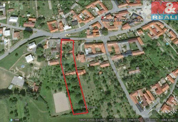 Prodej pozemku, Rouské, foto 1 Reality, Pozemky | spěcháto.cz - bazar, inzerce
