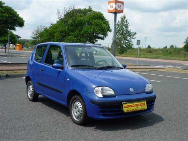 Fiat Seicento 1,1i Klima 1.maj.orig.servis, foto 1 Auto – moto , Automobily | spěcháto.cz - bazar, inzerce zdarma