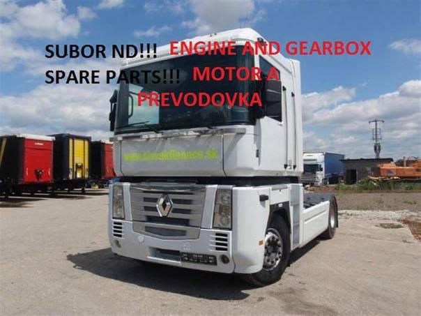 MOTOR A PREVODOVKA z ťahača MAGNUM 440 DXI, foto 1 Náhradní díly a příslušenství, Užitkové a nákladní vozy | spěcháto.cz - bazar, inzerce zdarma