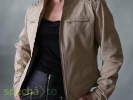 Béžová džínová bunda Amisu vel.40 , Dámské oděvy, Bundy, kabáty    spěcháto.cz - bazar, inzerce zdarma
