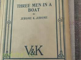 Tři muži ve člunu a pes (Three Men in a Boat) , Hobby, volný čas, Sběratelství a starožitnosti  | spěcháto.cz - bazar, inzerce zdarma
