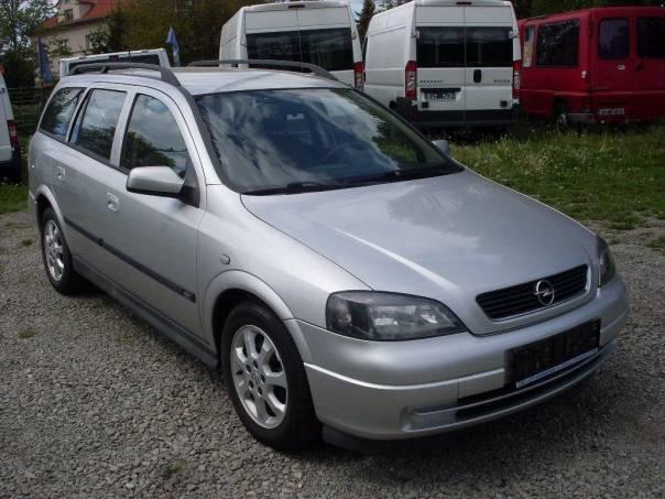 Opel Astra 1.8 i 16V kombi, 92kW, klima, foto 1 Auto – moto , Automobily | spěcháto.cz - bazar, inzerce zdarma
