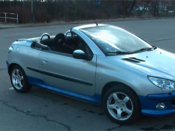 Peugeot 206 CC 1.6 benzin 16V, 80kW, foto 1 Auto – moto , Automobily | spěcháto.cz - bazar, inzerce zdarma