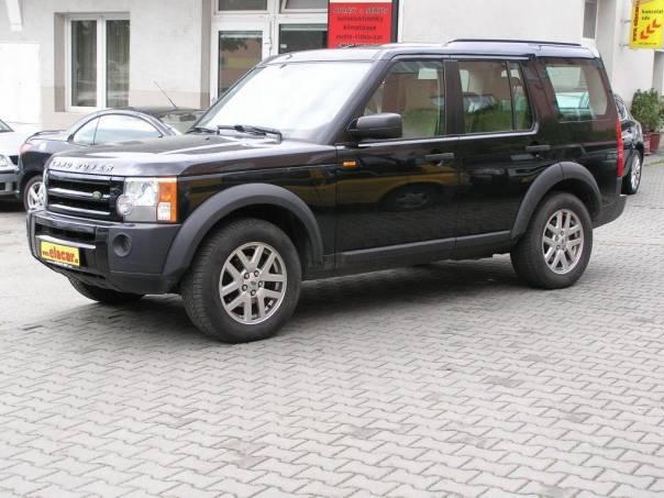 Land Rover Discovery 2.7 TDV6 NAVIGACE, foto 1 Auto – moto , Automobily | spěcháto.cz - bazar, inzerce zdarma