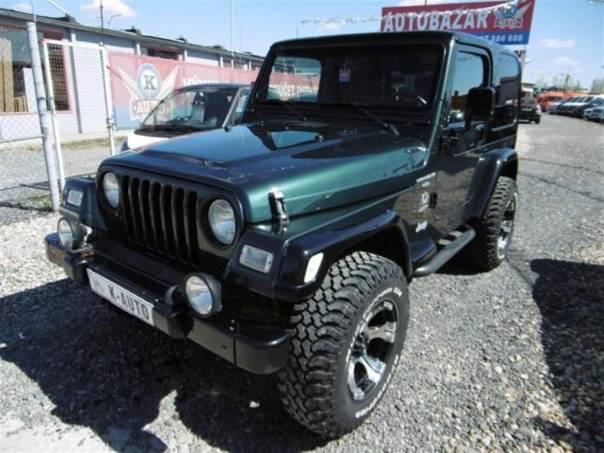 Jeep Wrangler 4.0i TJ Super stav, foto 1 Auto – moto , Automobily | spěcháto.cz - bazar, inzerce zdarma