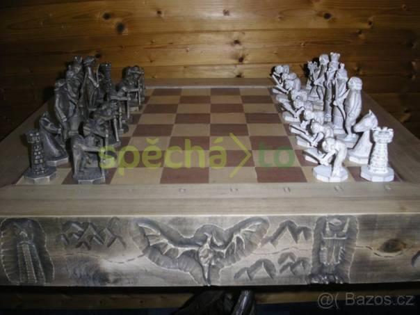 Jedinečná šachovnice, foto 1 Hobby, volný čas, Ruční práce a výrobky | spěcháto.cz - bazar, inzerce zdarma
