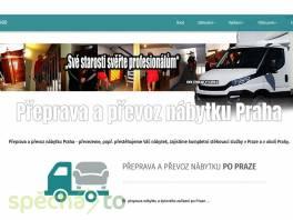 Přeprava a převoz nábytku Praha , Obchod a služby, Přeprava, stěhování    spěcháto.cz - bazar, inzerce zdarma