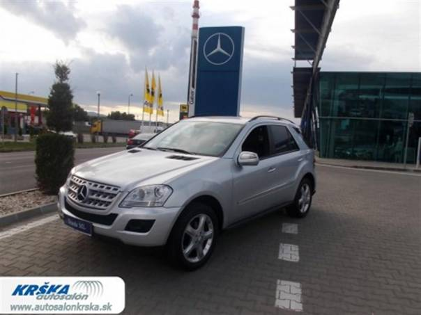 Mercedes-Benz Třída M 3.0CDi DPF V6 ML320 4Matic 7G-, foto 1 Auto – moto , Automobily | spěcháto.cz - bazar, inzerce zdarma