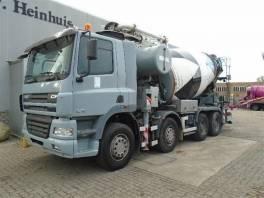 CF 85.340 8x4 mix + betonpumpa , Užitkové a nákladní vozy, Nad 7,5 t  | spěcháto.cz - bazar, inzerce zdarma