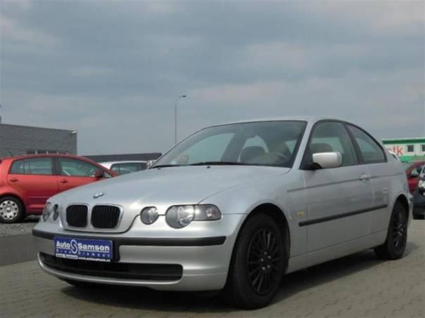 BMW Řada 3 316 TI *KLIMATIZACE*DSC*, foto 1 Auto – moto , Automobily | spěcháto.cz - bazar, inzerce zdarma