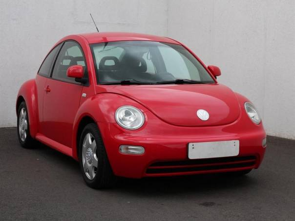 Volkswagen New Beetle  2.0, Serv.kniha, klimatizace, foto 1 Auto – moto , Automobily | spěcháto.cz - bazar, inzerce zdarma