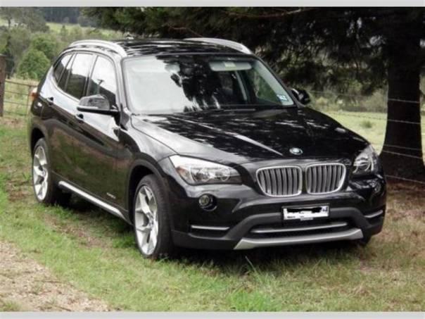 BMW X1 18d, xDrive, X Line, černá perleť, automat,, foto 1 Auto – moto , Automobily | spěcháto.cz - bazar, inzerce zdarma