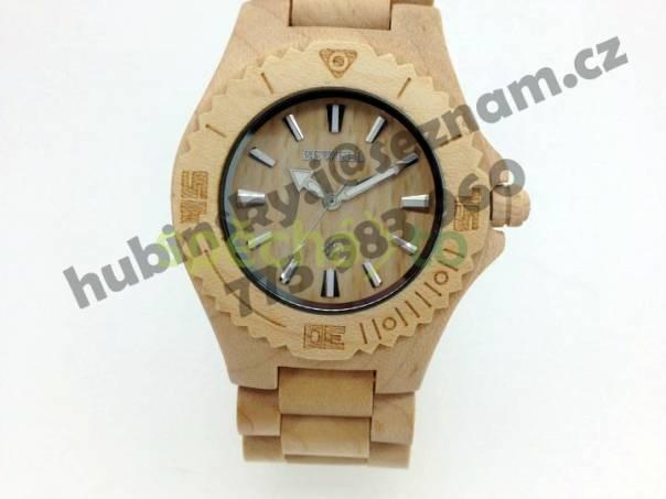 Nové dřevěné hodinky z kanadského javoru - dárek  a698992f8ec
