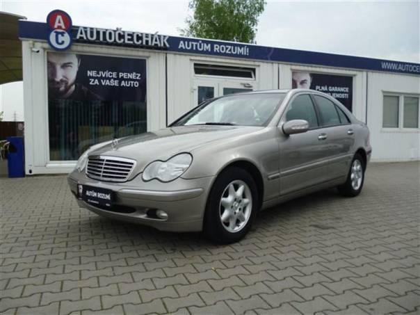 Mercedes-Benz Třída C 1,8 NAVIGACE, AUTOMAT  200 KOMPRESSOR, foto 1 Auto – moto , Automobily | spěcháto.cz - bazar, inzerce zdarma