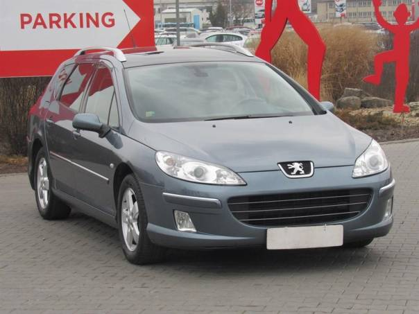 Peugeot 407  2.0 16V, Serv.kniha,ČR, foto 1 Auto – moto , Automobily   spěcháto.cz - bazar, inzerce zdarma