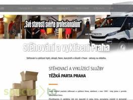 Stěhování Praha - vyklízení Praha - těžká parta Praha , Obchod a služby, Přeprava, stěhování  | spěcháto.cz - bazar, inzerce zdarma