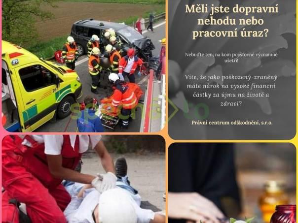 Odškodnění dopravní nehody a pracovního úrazu, foto 1 Obchod a služby, Právní služby | spěcháto.cz - bazar, inzerce zdarma